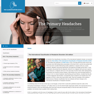 ICHD-3 The International Classification of Headache Disorders 3rd edition