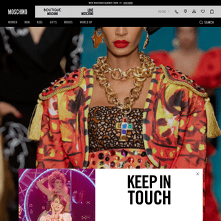 Moschino supports the Covid-19 Fight - Moschino Official Online Shop