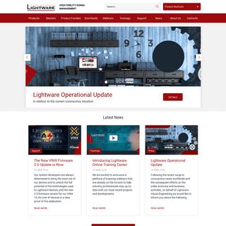 Lightware Visual Engineering