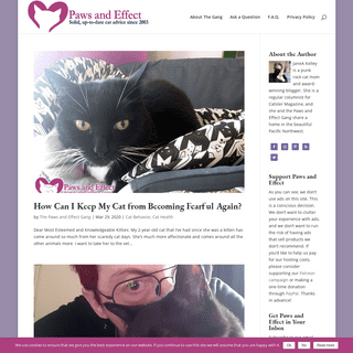 ArchiveBay.com - paws-and-effect.com - Paws and Effect - Solid and up-to-date cat advice since 2003