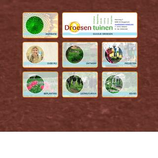 Droesen Tuinen - Uw specialist voor tuinontwerpen en tuinadvies in Buggenum - regio Roermond - Limburg