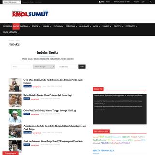 Indeks - RMOLSUMUT - Berita Terbaru Hari Ini Kota Medan