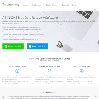 M3 Data Recovery- Free data recovery software for file recovery