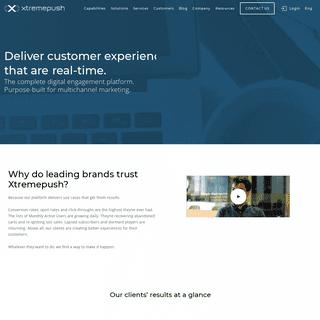 Xtremepush - Multichannel Engagement & Experience Platform