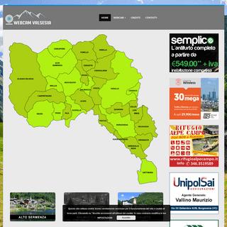 Webcam Valsesia - Il portale delle cartoline della Valsesia