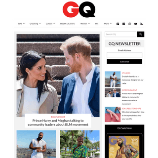 GQ South Africa - Men's Fashion, Style, Grooming, Trends & Culture