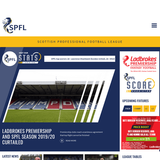 SPFL - Official Site of Scottish Professional Football League