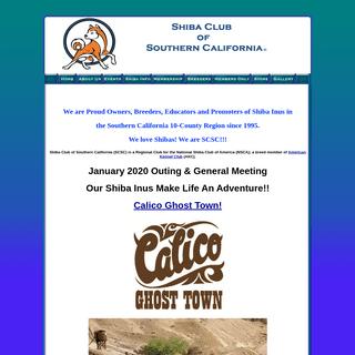 ArchiveBay.com - shibaclubofsocal.com - Shiba Club of Southern California - Shiba Inu, Dog Breed