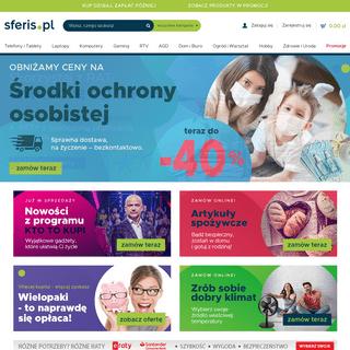 Internetowy Sklep Komputerowy (I Nie Tylko!) - Sferis.pl