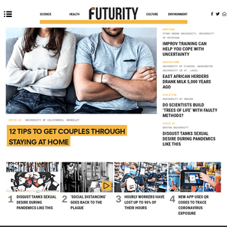 Futurity- Research News from Top Universities