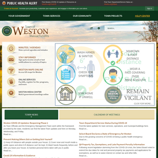 Weston, MA - Official Website
