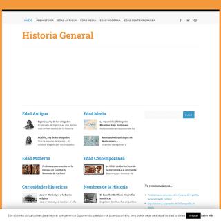 ArchiveBay.com - historiageneral.com - Historia General - Antigua Media Moderna y Contemporánea