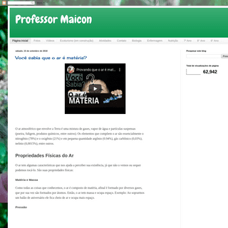 Professor Maicon