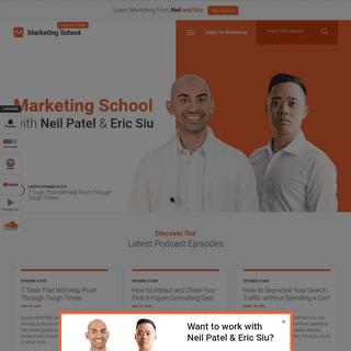 Home - Marketing School Podcast