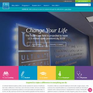 Healthcare Academy - Online and Campus Programs - UMA