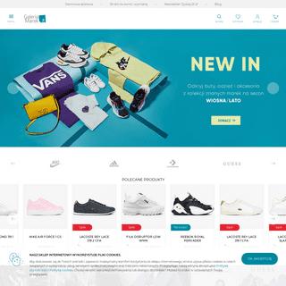 GaleriaMarek.pl - markowe buty, firmowa odzież, akcesoria