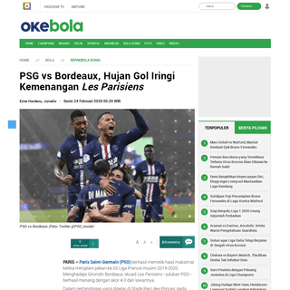 ArchiveBay.com - bola.okezone.com/read/2020/02/24/51/2173016/psg-vs-bordeaux-hujan-gol-iringi-kemenangan-les-parisiens - PSG vs Bordeaux, Hujan Gol Iringi Kemenangan Les Parisiens - Okezone Bola