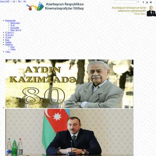 Arki.az - Azərbaycan Respublikası Kinematoqrafçılar İttifaqı