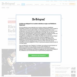 Rico Verhoeven open over liefdesbreuk - Sport - Telegraaf.nl