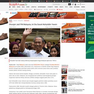 Ditunjuk Jadi PM Malaysia, Ini Dia Sosok Muhyiddin Yassin