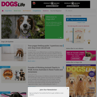 DogsLife - Dog Breeds and Pet Care - Dogslife. Dog Breeds Magazine