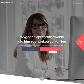 MojeBiuro24.pl - Oprogramowanie dla biur rachunkowych online
