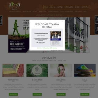 Natural Dye Manufacturer & Supplier - GOTS Certified Dyes