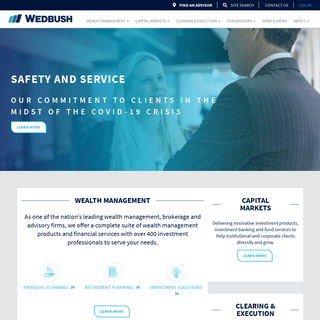 Wealth management and capital markets specialists - Wedbush Securities