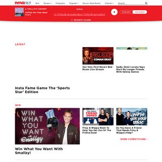 Nova - Fresh Hits & Throwbacks Radio - Your Favourite Hit Music Station