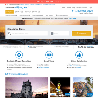Affordable Tours Official Site - Travel & Vacation Packages