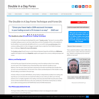 ArchiveBay.com - doubleinadayforex.com - The Double in A Day Forex Technique and EA