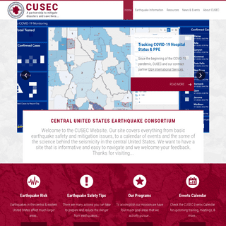 CUSEC – A partnership to mitigate disasters and save lives…