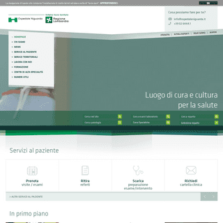 Home Page - ASST Grande Ospedale Metropolitano Niguarda