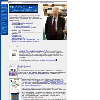 Mediation Essays, Mediation Forms and Mediation Materials