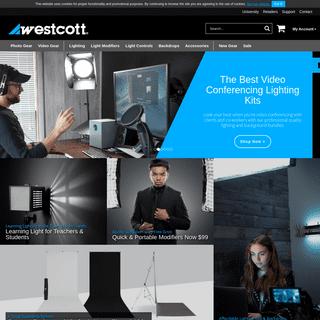 Westcott Lighting Equipment for Photographers, Filmmakers and Visual Creators