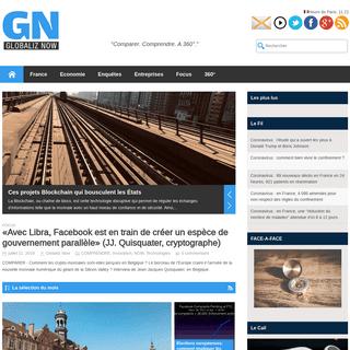 ArchiveBay.com - globaliznow.com - GlobalizNow - L'info ouverte sur le monde.