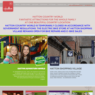 Hatton Country World - Fantastic Attractions for the Whole Family