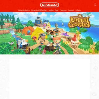 Nintendo Sverige - Officiell webbsida