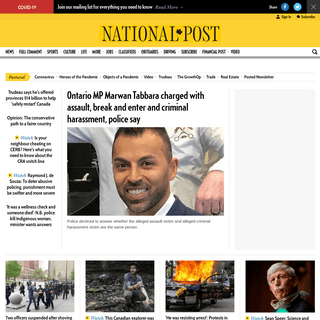 Canadian News, World News and Breaking Headlines - National Post