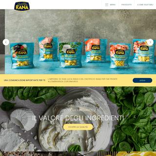 Pastificio Giovanni Rana - Leader nel mercato della pasta fresca