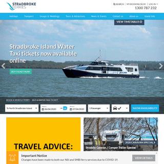 Connecting you to North Stradbroke Island - Stradbroke Ferries