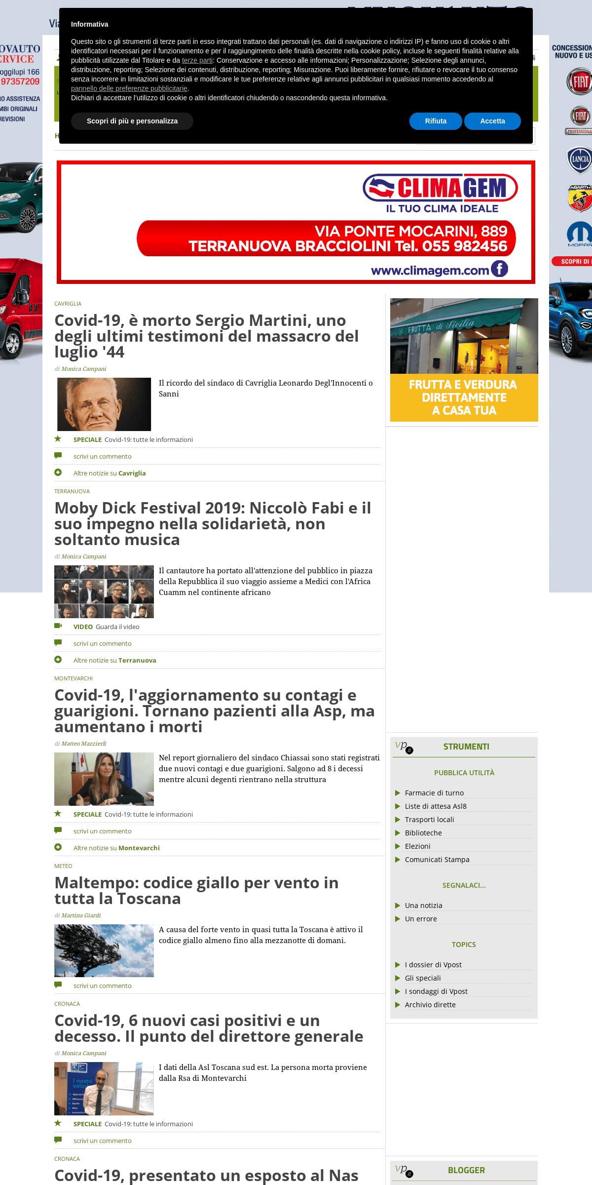 ArchiveBay.com - valdarnopost.it - ValdarnoPost - Notizie Valdarno - News in tempo reale