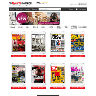 Magazine Subscriptions from Future Publishing - My Favourite Magazines