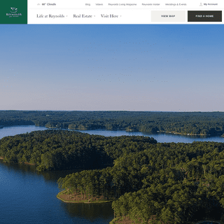 Welcome to Reynolds Lake Oconee, a Luxury Golf & Lakefront Community