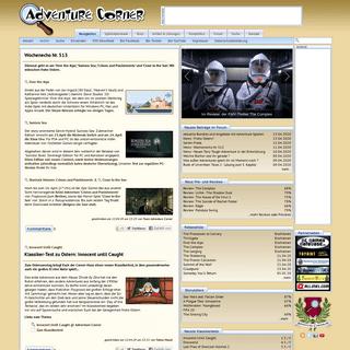ArchiveBay.com - adventurecorner.de - Adventure Corner - News