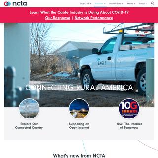 NCTA — The Internet & Television Association
