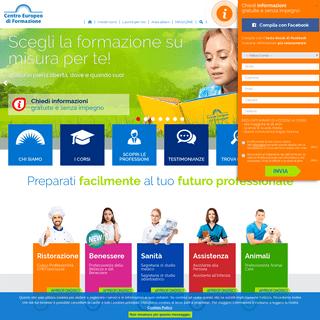 CEF- Centro Europeo di Formazione, Corsi di Formazione Online