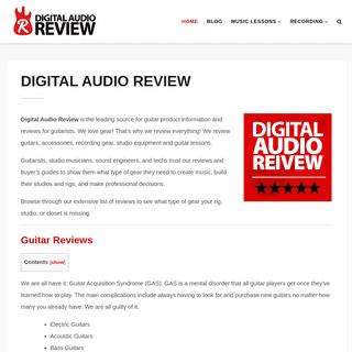 ArchiveBay.com - digitalaudioreview.net - Digital Audio Review - Guitar Lessons, Gear Reviews, & Buyer's Guides