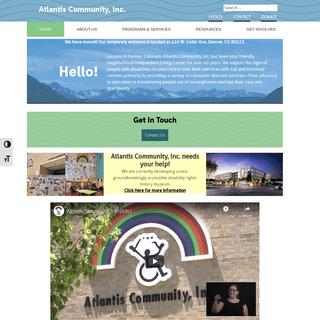 Home - Atlantis Community, Inc.