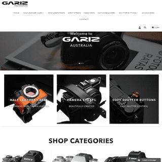 Gariz Australia- Leather Half Cases, Camera Straps